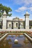 Royal park Buen-Retiro Stock Photos