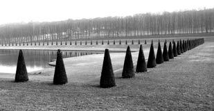 Royal park in France Stock Image