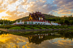 Royal Park Rajapruek. This are photo is Royal park Rajapruek in Chiangmai Thailand Royalty Free Stock Images
