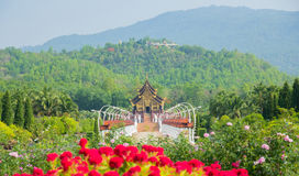 Royal Park Rajapruek ,Thailand Royalty Free Stock Photos