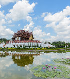 Royal Park Ratchaphruek in Chiang Mai, Thailand Royalty Free Stock Image