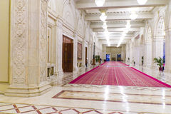 Royal Passage. A passage in the interiors of a royal palace Stock Photo