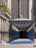 Royal passageway for Dutch King's inauguration Royalty Free Stock Images