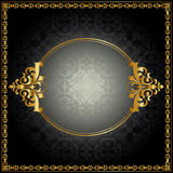 Royal pattern with frame Royalty Free Stock Photography