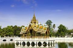 Royal Pavilion. In the pool of Ayudhaya, Thailand Stock Image
