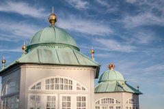 Royal Pavilion in Amaliehaven Royalty Free Stock Photography