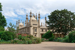 Royal Pavilion, Brighton. The Royal Pavilion in Brighton, a former royal residence built at the turn of the 19th century Royalty Free Stock Photos