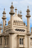 Royal Pavilion, Brighton. Details of the exotic oriental spires of Royal Pavilion, Brighton stock photos