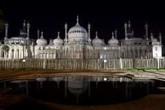 Royal Pavilion of Brighton England Royalty Free Stock Images