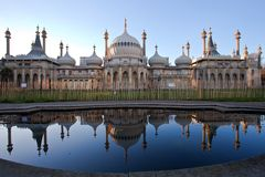 Royal Pavilion of Brighton England Stock Images