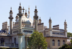 The Royal Pavilion at Brighton, England Royalty Free Stock Images