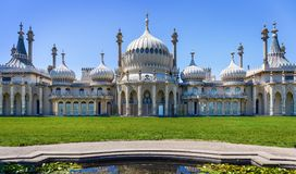 Royal Pavilion in Brighton, England stock images