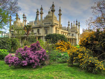 The Royal Pavilion, Brighton, England,UK. Popular tourist attraction Royalty Free Stock Photos