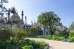 Royal Pavilion, Brighton. Spies and domes of the Royal Pavilion in Brighton Stock Photo