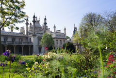 Royal Pavilion, Brighton. Spies and domes of the Royal Pavilion in Brighton Stock Image