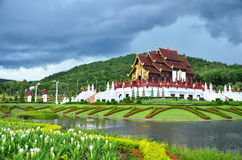 Royal Pavilion Chiang Mai Royalty Free Stock Photos