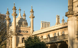 Royal Pavilion detail at dusk, Brighton, UK. Royalty Free Stock Photos