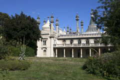 The Royal Pavilion a former Royal residence Stock Photography