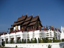 Royal Pavilion Hall, Chiang Mai, Thailand Stock Photo