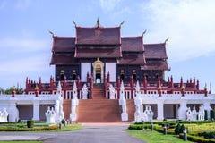 Royal Pavilion (Ho Kham Luang), Chiang Mai, Thailand Stock Photography