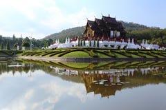 The Royal Pavilion (Ho Kham Luang) in Royal Park Rajapruek Royalty Free Stock Photo