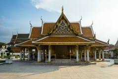 Royal Pavilion Mahajetsadabadin on blue sky background stock image