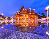 Royal Pavilion Mahajetsadabadin or King Rama III Memorial park Royalty Free Stock Photos