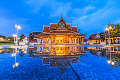 Royal Pavilion Mahajetsadabadin or King Rama III Memorial park Royalty Free Stock Images