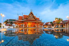 Royal Pavilion Mahajetsadabadin or King Rama III Memorial park Stock Photography