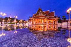 Royal Pavilion Mahajetsadabadin or King Rama III Memorial park Royalty Free Stock Photography