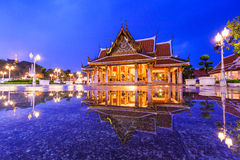 Royal Pavilion Mahajetsadabadin or King Rama III Memorial park Stock Images
