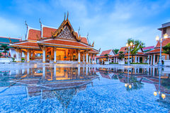 Royal Pavilion Mahajetsadabadin or King Rama III Memorial park, Thailand Stock Image