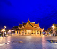 Royal Pavilion Mahajetsadabadin or King Rama III Memorial park, Thailand Royalty Free Stock Photos