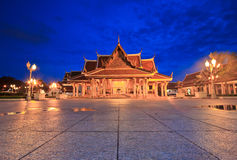 Royal Pavilion Mahajetsadabadin or King Rama III Memorial park, Thailand Royalty Free Stock Image
