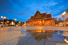 Royal Pavilion Mahajetsadabadin or King Rama III Memorial park, Thailand Stock Photo