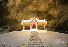 Royal pavilion in the Phraya Nakhon Cave, Prachuap Khiri Khan, T Stock Images