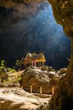 Royal pavilion in the Phraya Nakhon Cave Royalty Free Stock Photos