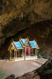 Royal pavilion in the Phraya Nakhon Cave Stock Images