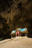 Royal pavilion in the Phraya Nakhon Cave Stock Photography