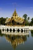 Royal Pavilion in the Pool. Royal pavilion in Bangpain Palace, Ayudhaya, Thailand Stock Photography