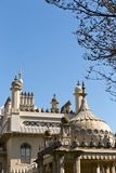 Royal Pavilion on a sunny day with no clouds in the sky Royalty Free Stock Photography