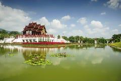 The Royal Pavilion (Ho Kham Luang) in Royal Park Rajapruek Chiang Mai, Thailand Stock Image