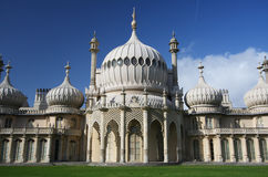 The Royal Pavillion in Brighton Royalty Free Stock Photo