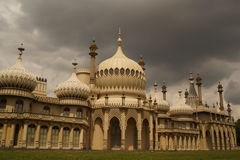The Royal Pavillion Brighton royalty free stock photos