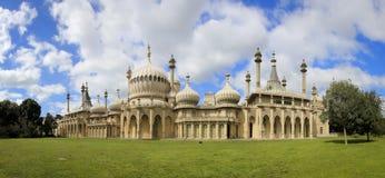 Royal Pavillion Panorama Brighton East Sussex Uk Stock Photography