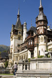 Royal Peles castle Royalty Free Stock Images