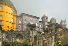 Royal Pena palace Stock Image