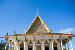 Royal place in Phnompenh Stock Photography