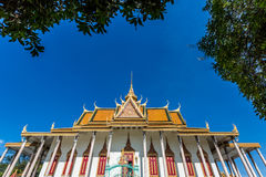 Royal place in Phnompenh Royalty Free Stock Photography