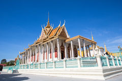 Royal place in Phnompenh Stock Photo